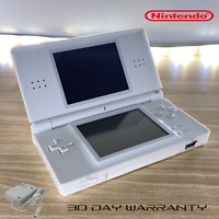 Nintendo DS Lite White console W/charger & Warranty Super fast Same day shipping