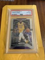 LEBRON JAMES 2019/20 PANINI PRIZM #129 LOS ANGELES LAKERS PSA 10 GEM MINT $1500+
