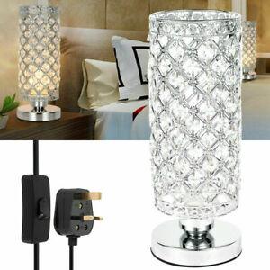Modern Crystal Table Lamp Bedroom lights Bedside lamp Creative table lamp Decor