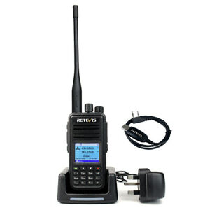 Ham Radio Retevis RT3S VHF UHF Walkie Talkie 2m/70cm Digital Analog TDMA VFO
