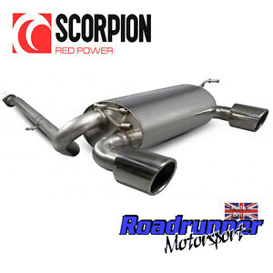 """Scorpion Exhaust System FITS 350Z Stainless Y-Piece Back Z33 INDY 4"""" - SNS015R"""