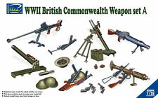 Riich Models RE30010 1/35 WWII British Commonwealth Weapon Set A