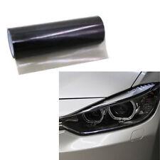 Car SUV Smoke Fog Light Headlight Taillight Tint Vinyl Film Sheet Sticker Black