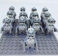 13x Wolfpack Clone Trooper Mini Figures (LEGO STAR WARS Compatible)