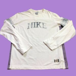 Vintage Nike Sleeve Long Sleeve T Shirt