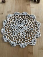 12Pcs/Lot Vintage Hand Crochet Lace Doilies Coasters Cotton Small 20cm Item5