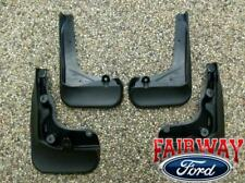2013 thru 2018 C-Max OEM Genuine Ford Molded Splash Guards Mud Flaps Set of 4