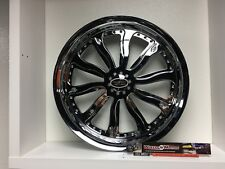 "09 up Harley Davidson 23"" front Wheel Custom Chrome Wheel Style 122c"