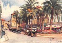 Cartolina - Postcard - Illustrata - Raimondi - S. Remo - Auto d'epoca - anni '40