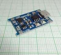 1 St. LiPo Micro USB Lademodul 5V 1A 18650 w/ Schutzschaltung TP4056- E711
