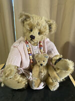 "Knickerbocker Mohair Teddy Bear, """"Oldie Goldie"", 20"", Limited edition 1993"