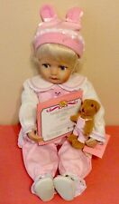 """PARADISE GALLERIES Treasury Collection """"Emma"""" Doll/Kathy Smith-Fitzpatrick (S/A)"""