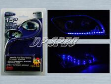 "BLUE 15"" LED STRIP HEAD TAIL LIGHT BUMPER GRILLE DASH SEAT FOR NISSAN INFINITI"