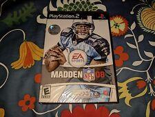 Madden NFL 08 (Sony PlayStation 2, 2007) BRAND NEW SEALED