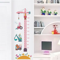 Removable Height Chart Measure Wall Sticker Decal for Kids Baby Room UK