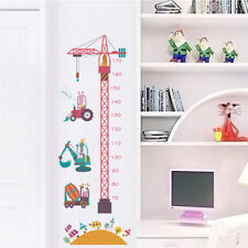 Removable Height Chart Measure Wall Sticker Decal for Kids Baby RoomJC