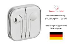 Original Apple iPhone MD827ZM/A EarPods Headset Kopfhörer MNHF2ZM/A Aux 3,5MM