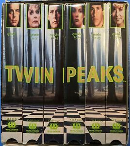 Twin Peaks - Special Collectors Edition (VHS, 1993, 6-Tape Set)