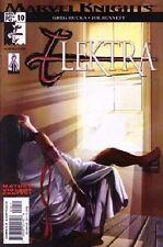 Marvel Knights Elektra #10 VF NM Greg Rucka & Joe Bennett - Mature Content Horn