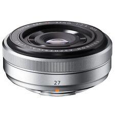 Excellent! Fujifilm XF 27mm f/2.8 Silver - 1 year warranty