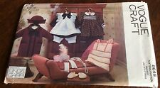 "Vogue Pattern 8648 Doll Collection 18"" Doll Clothes - Dresses, Coat + Access"