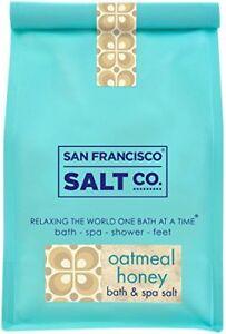 NEW Oatmeal Honey Bath Salts 2lb Bag FREE SHIPPING