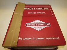 Briggs & Stratton Shop Service Manuel 2 cycle & Electric Motor