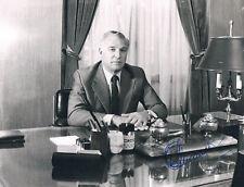 "Argentina Osvaldo Cacciatore 1924-2007 autograph signed photo 7""x9"" Air Force"