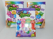 Slime Scent Color Kits Art Craft Kit Kid Activity Gift Bundle Glitter