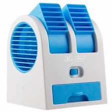 Mini Fan Cooling Bladeless Portable Air Conditioner Water Cooler USB