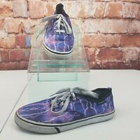 Air Speed Canvas Sneakers Lighting Bolts Thunder Storm Size 6