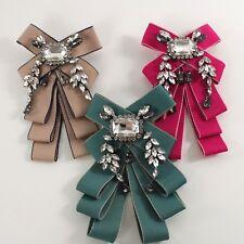 Spilla Spillone Donna Casual Fiocco Piu Colori Accessori Idea Regalo Natale