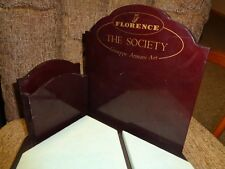 Rare Collectible 1973 Florence The Society Giuseppe Armani Art Dealer Display