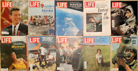 Lot of 20 1965 LIFE Watts Astronaut Alaska Pope Paul Mary Martin Hugh Hefner -D