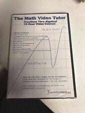 The Math Video Tutor (DVD, 2005)