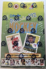 1991-92 OPC O-Pee-Chee Premier Hockey Factory Sealed Box - Lidstrom RC