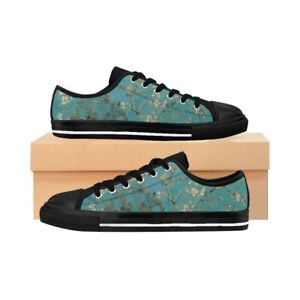 Men's Sneakers - Almond Blossom, Vincent van Gogh