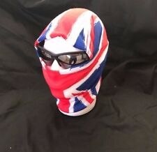 ⭐ Union Jack MOD Scooter Face Warmer Mask Neck Scarf Bike Snood Balaclava ⭐ UK
