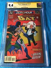 Batman: Shadow of the Bat #31 - DC -CGC SS 9.4 NM -Signed by Stelfreeze Blevins