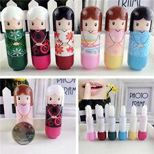 Lovely Japanese Kimono Lip Balm Gloss Lipstick Anti Cracking Moisturizer Makeup