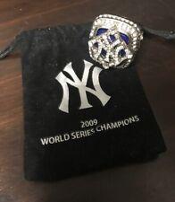 2019 New York Yankees SGA 2009 World Series Replica Ring 8/18 Brand New In Bag