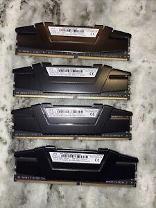 G.Skill Ripjaws V 4 x 32GB DDR4-3200 CL14-14-14-34 1.35V 32GB(4x8GB) XMP 2.0