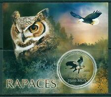 Madagascar - Owls MNH set - 4val sheet + s/s