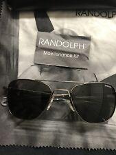 Randolph engineering aviator sunglasses 52mm Polarized Lens