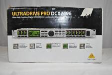 New Behringer ULTRADRIVE PRO DCX2496 High-Precision Digital Loudspeaker System