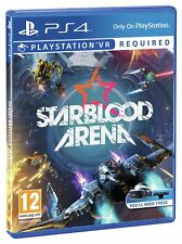 Starblood Arena Sony Playstation PS4 VR Game.