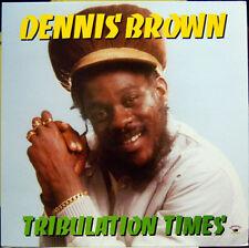 DENNIS BROWN  TRIBULATION TIMES NEW VINYL LP £10.99