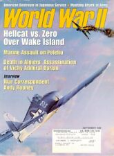 WORLD WAR II SEP 98 USMC 1st MARINE DIV PELELIU / ANDY ROONEY / NISEI ETO / P-51