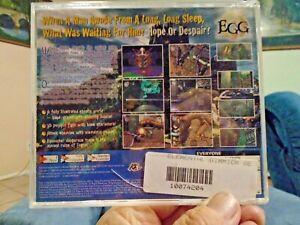 SEGA DREAMCAST ELEMENTAL GIMMICK GEAR ORIGINAL  ART CASE, NO GAME OR MANUAL