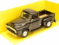 FORD F-100 1:43 Model Die Cast Toy Pick Up Truck Car Models Miniature F100 BLACK